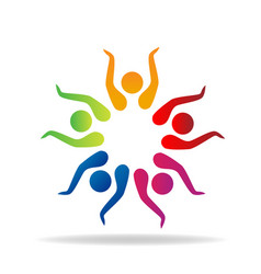People group together vector