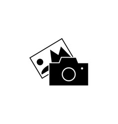 photocamera images icon signs and symbols can be vector image