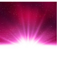 shiny abstract magic purple light vector image