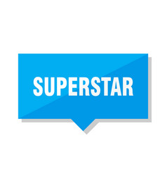 Superstar price tag vector
