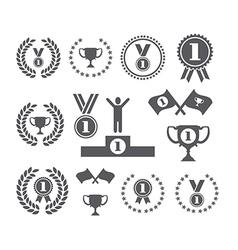 Winner symbols vector