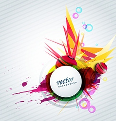 abstract style background vector image