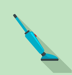 Car vacuum cleaner icon flat style vector