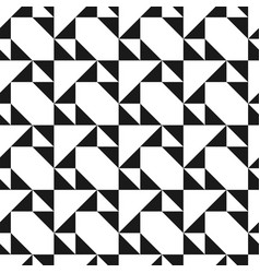 creative seamless geometric pattern vector image