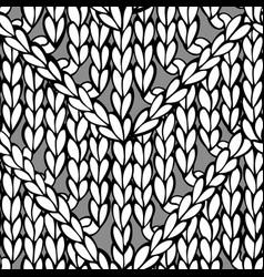 Doodles zigzag chevron stitch pattern vector