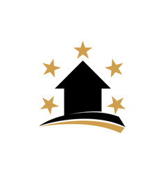 home star property vector image