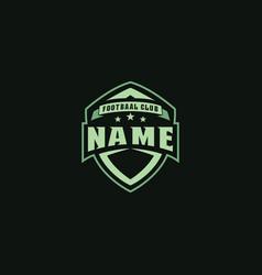 labels logo for team badges image vector image