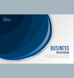 modern business presentation banner design vector image