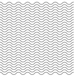 seamless abstract pattern thin line waves vector image