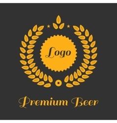 Vintage design for labels vector image