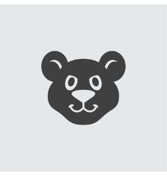 Cougar icon vector image