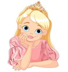 Beautiful Princess vector image vector image