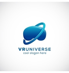 Virtual Reality Universe Abstract Icon vector image