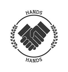 Hand pictogram vector