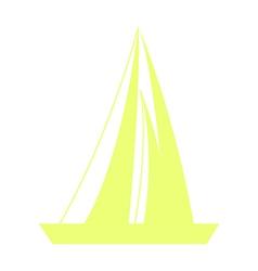 A sailing boatA sailing boat vector
