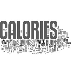 a simple plan for weight loss text word cloud vector image