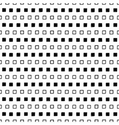 Black and white square design vector