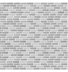 gray brick wall texture - seamless vector image