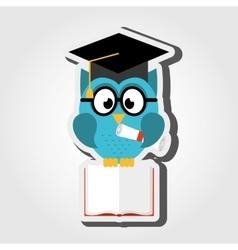 Owl bird design vector