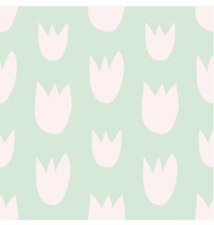 Pastel decoration background with floral print vector