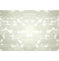 Abstract shiny tech design vector image vector image