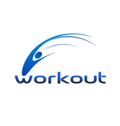 Workout Logo vector image vector image