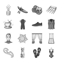 sewing sport travel and other web icon in vector image