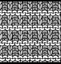 Doodles hurdle stitch pattern vector