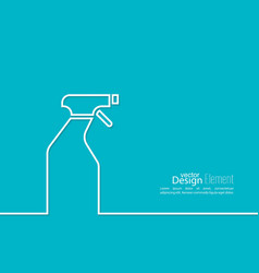 icon hand sprayer vector image