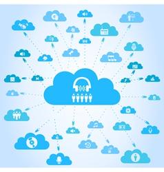 Music a cloud vector
