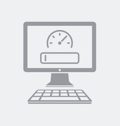 quick search on computer vector image