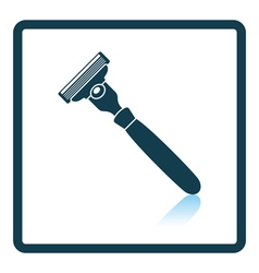 Safety razor icon vector image