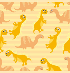 seamless pattern for kids for cards invitations vector image