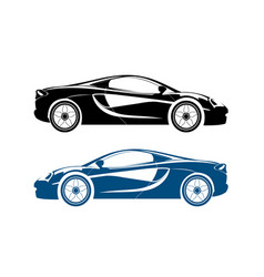 sports car design vector image