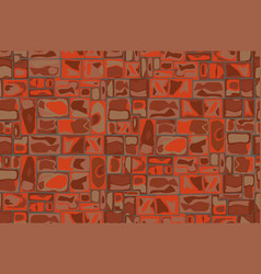 stone wall background vector image