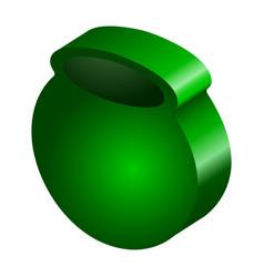 3d model of a money pot vector image