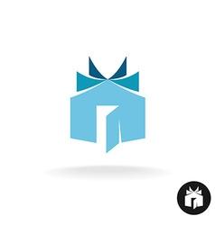 books house idea logo template house building vector image