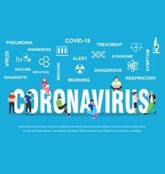 Dangerous chinese ncov coronavirus sars pandemic vector