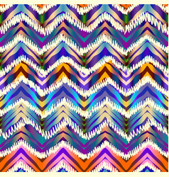 Ethnic chevron pattern vector