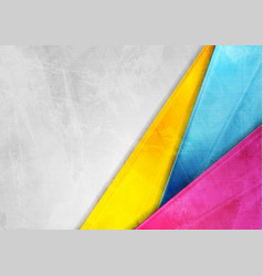 Grunge tech corporate colorful background vector