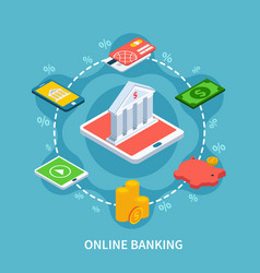Isometric banking round composition vector