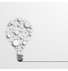 modern idea icon background vector image