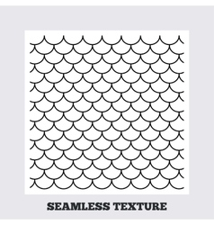 Roof tile geometric seamless pattern vector