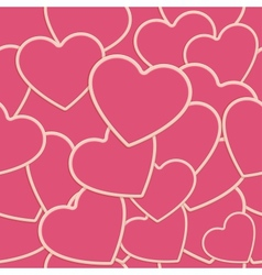 Tile Heart Background One vector
