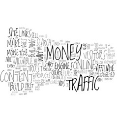 a simple system to make money online text word vector image