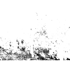 Grunge white and black wall background vector image vector image