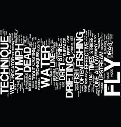 the dead drift text background word cloud concept vector image