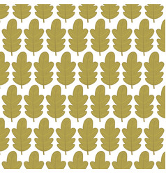 background green foliage leaves ornament autumn vector image