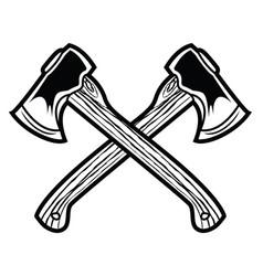 Camping vintage axe adventure outdoor logo 8 vector