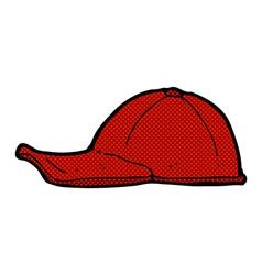 Comic cartoon cap vector